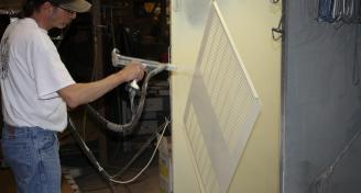 Sheet metal Powdercoat Powdercoating Panagraphics